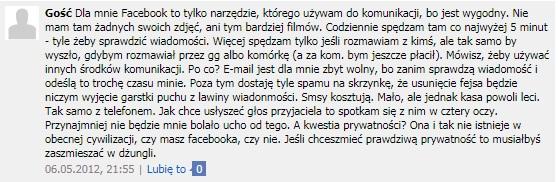 Dlaczego warto posiadać konto facebook czyli nie zawsze warto wiedzieć jak usunąć fb