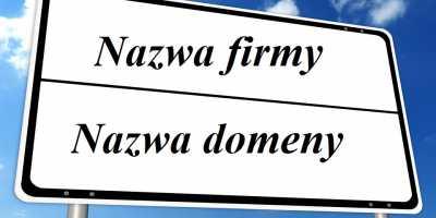 nazwa firmy i nazwa domeny
