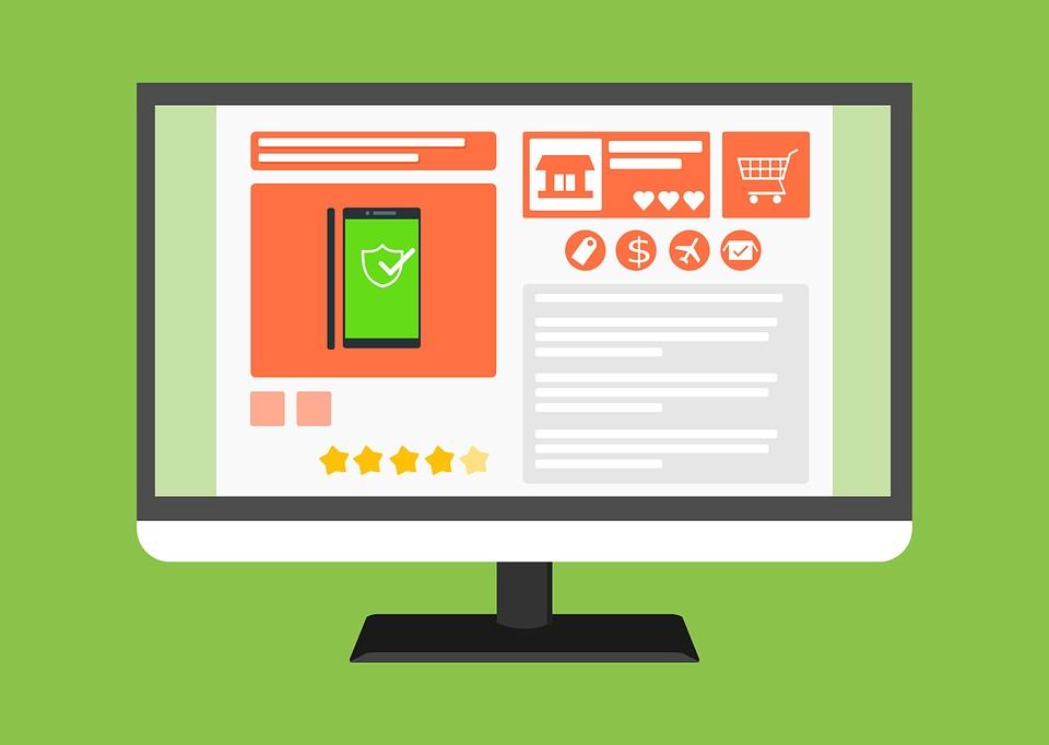 obowiązkowe zakładki w sklepie internetowym to cel na wdrożenie sklepu online
