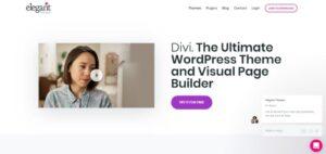 szablon motyw wordpress divi
