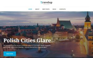 najlepsze motywy wordpress - traveling blog wordpress