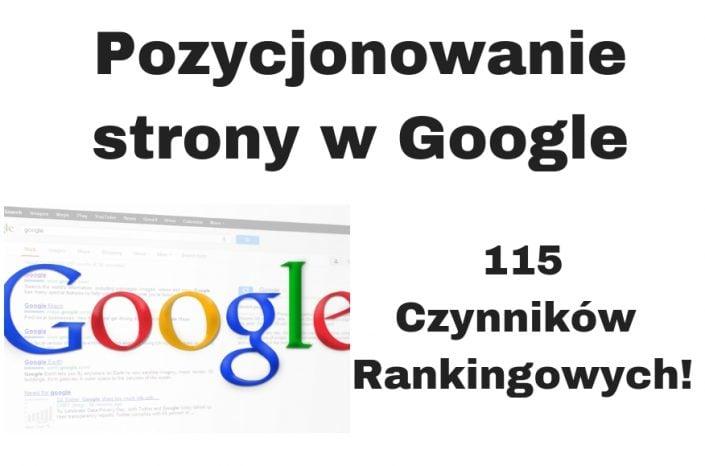 Jak pozycjonować stronę WWW w Google za darmo? 50 wskazówek