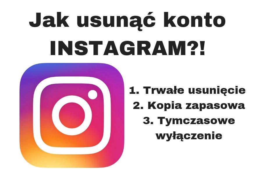 Jak usunąć Instagrama lub dezaktywować konto