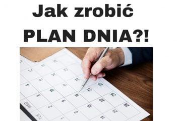 Jak zrobić PLAN DNIA i Tygodnia - planowanie czasu!
