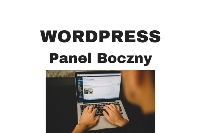 Jak ustawić panel boczny WordPress - Sidebar?