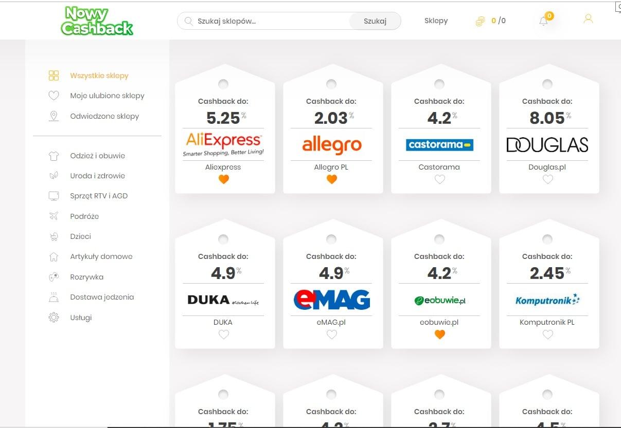 cashback-opinie-NowyCaskBack-zarabianie-przez-zwrot-z-zakupów
