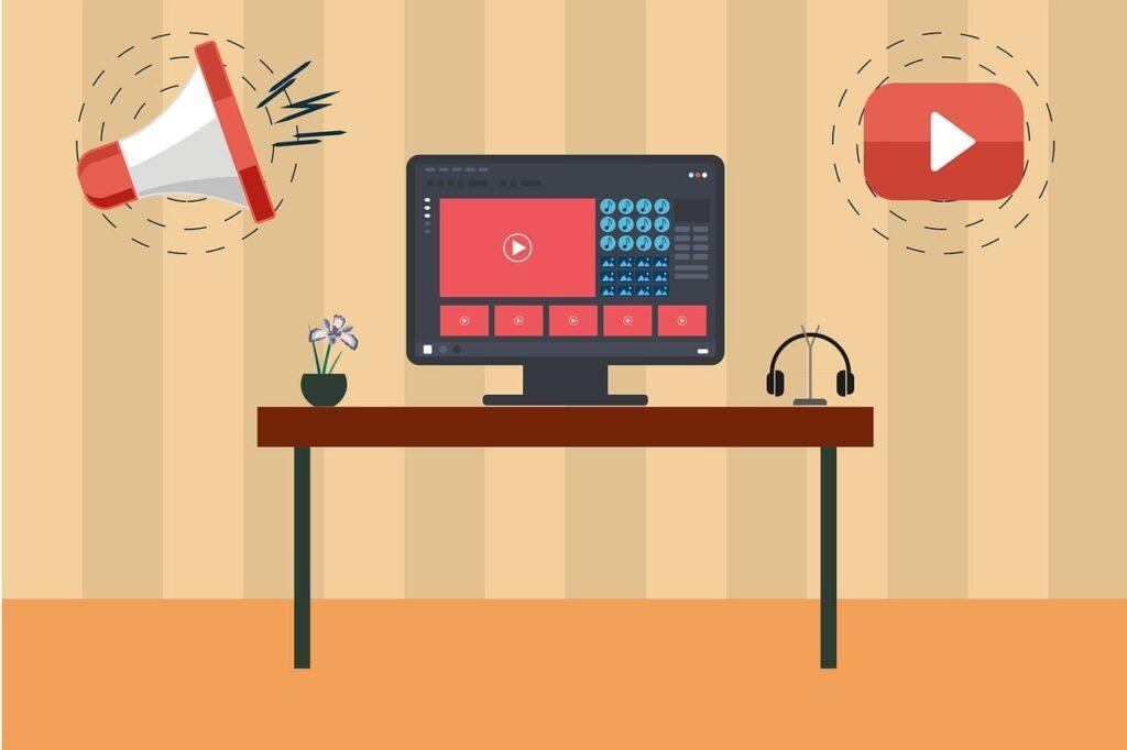 z kursu online jak stworzyć i prowadzić kanał youtube i na nim zarabiać