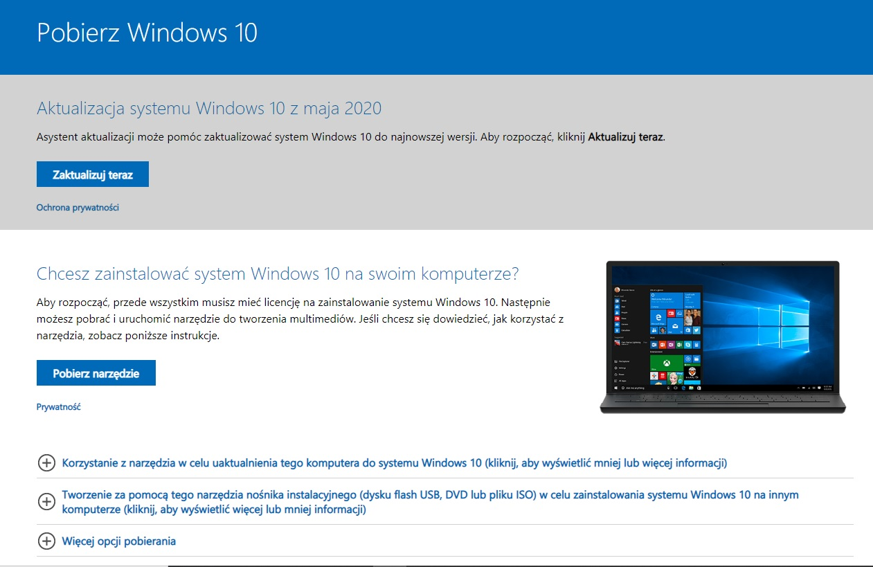 Przywracanie i odzyskiwanie systemu Windows 10, 7, 8, 8.1 Poradnik