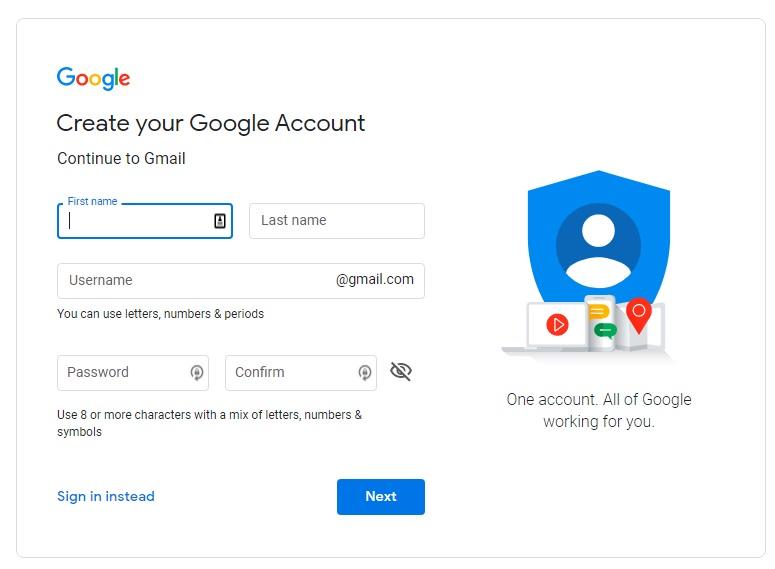 jak założyć gmaila krok po kroku pocztę email