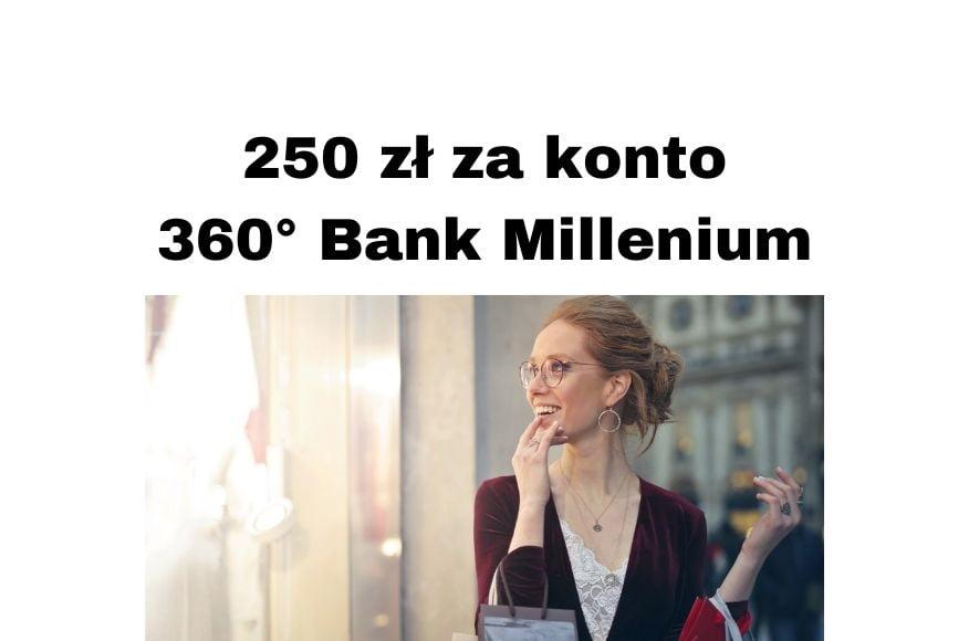 Bank Millenium Promocje - za Konto 360° 100 zł w Zalando i 150 zł premii