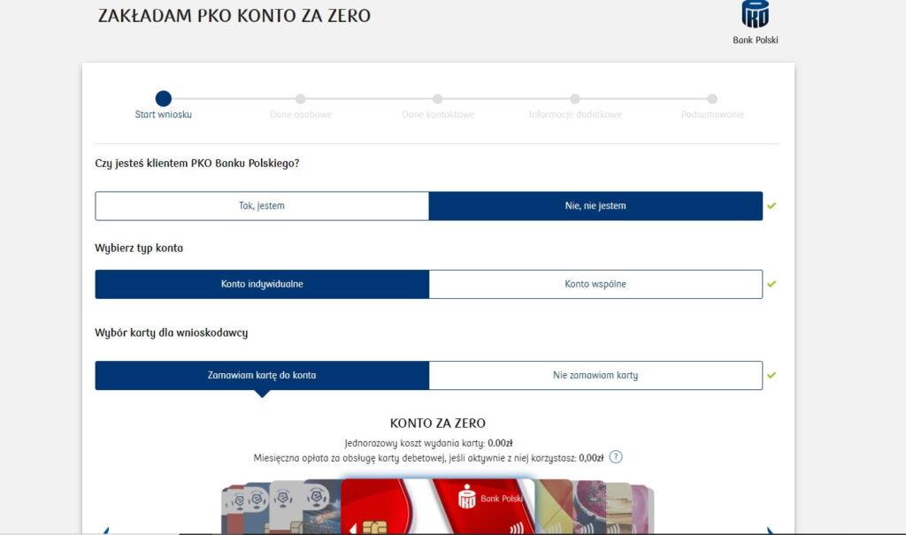 Jak założyć Konto za zero PKO BP i otrzymać nagrodę czyli PKO BP Promocje 2020
