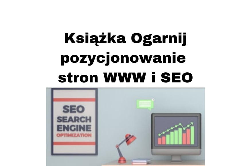 Książka Ogarnij pozycjonowanie stron WWW i SEO Szymon Owedyk