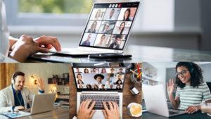 """Kurs """"Wideokonferencje i szkolenia przez ZOOM, Skype i Google Meet"""""""