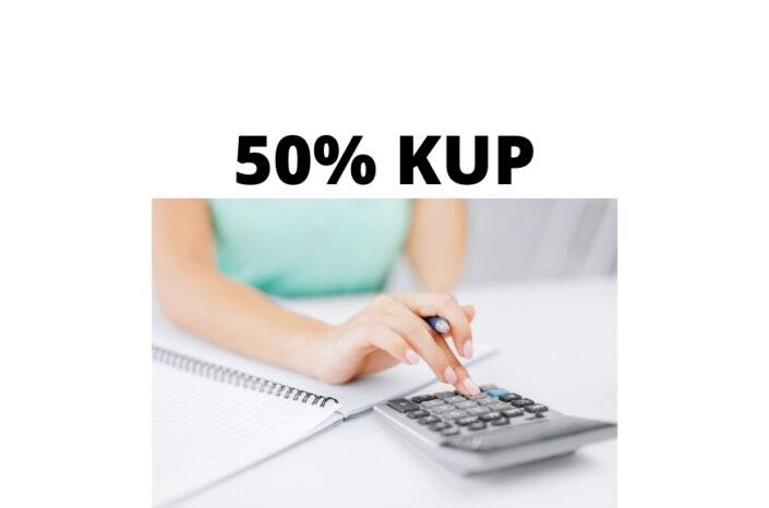 50% koszty uzyskania przychodów KUP – czym są i kto z nich korzysta?