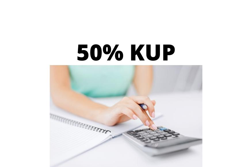 50% koszty uzyskania przychodów KUP – czym są i kto z nich korzysta