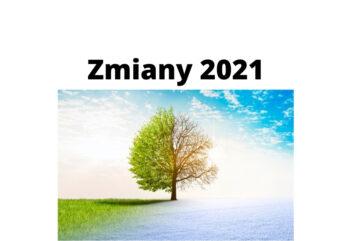 Zmiany 2021 dla pracowników, emerytów i rodziców – czego dotyczą