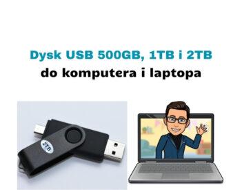Recenzja dysku zewnętrznego USB 500GB Adata Classic CH94 i innych
