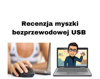 Recenzja myszki zewnętrznej USB / Bezprzewodowa Bluetooth Tracer
