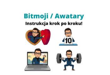 Bitmoji Awatary w Genially, Messengerze, Instagramie i CANVA