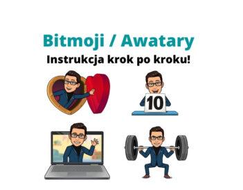 Bitmoji / Awatary w Genially, Messengerze, Instagramie i CANVA