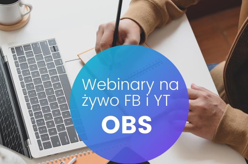Transmisje na żywo lajwy Facebook i YouTube przez program OBS