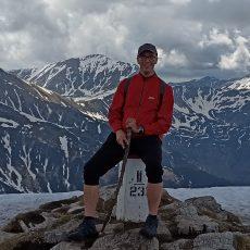 instruktor kursów online w górach
