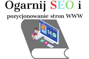 książka ogarnij SEO i pozycjonowanie stron www